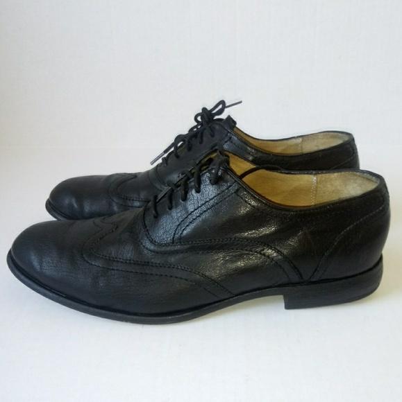 Frye Other - FRYE Harvey wingtip black dress shoes